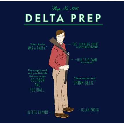 Limited Edition Delta Prep Tee